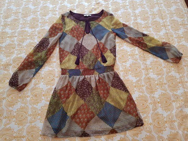 """Vestido de cinta caida da """"fórmula joven"""" (Corte Inglês, tamanho 36)"""