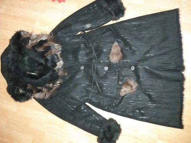 Дубленка женская зимняя, пальто