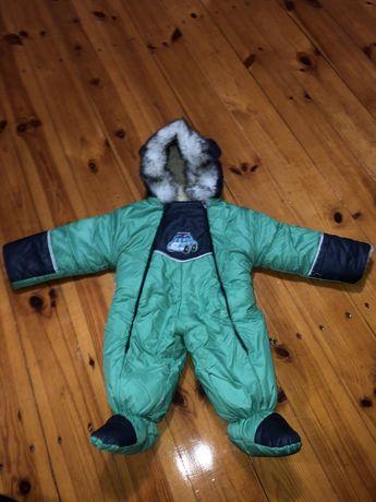 Зимовий комбенізон для хлопчика