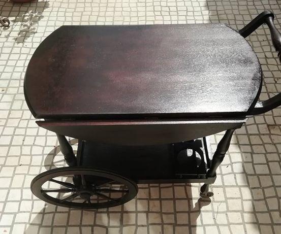 Vende-se carrinho bar/chá antigo