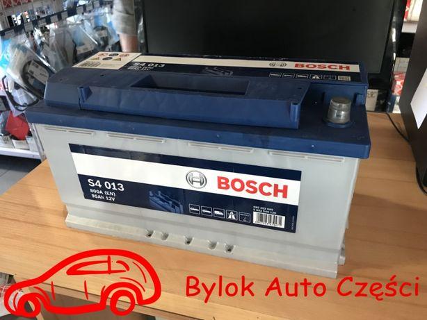 """AKUMULATOR 95AH/800A """"Bosch"""" NOWY!!! """"Bylok Auto Części"""" Gliwice"""