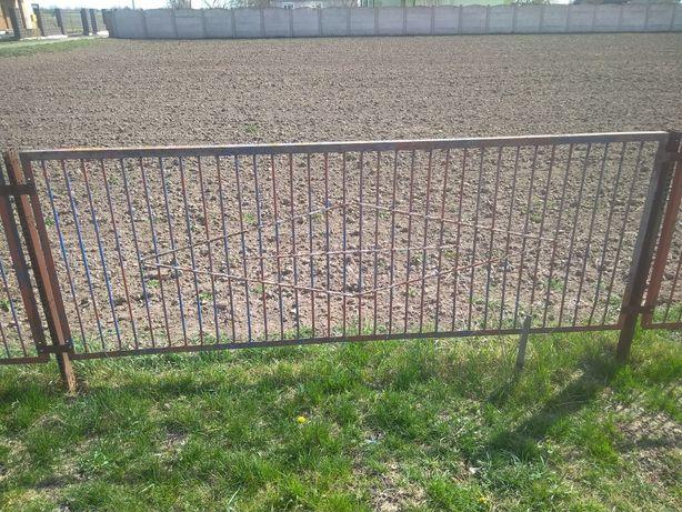 забор металевий паркан секції