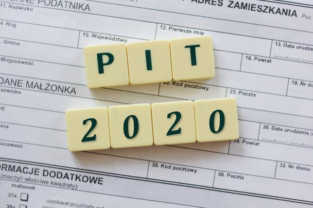 Rozliczenia PIT za 2020