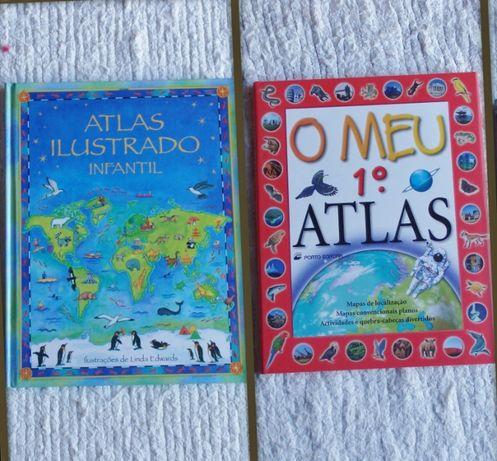 Atlas Infantil e 1º Atlas