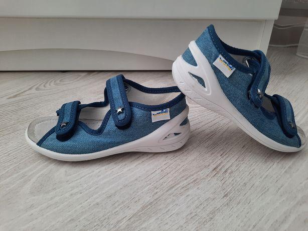 Тапочки сандалики для сада валди waldi 26 размер 16.5 см