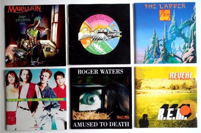 CD's Pink Floyd, Roger Waters, REM, Yes, Marillion, Paul McCartney