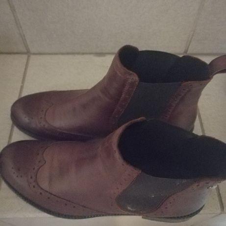 Buty brązowe mało uzywane