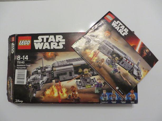 Klocki Lego Star Wars - 75140 transportowiec ruchu oporu