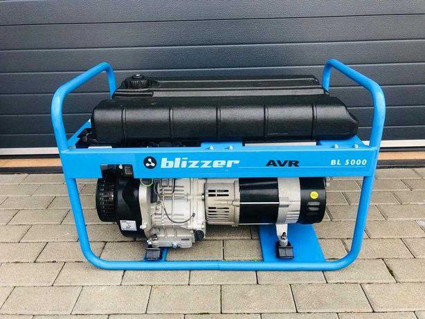 Agregat prądotwórczy BLIZZER BL 5000 - Jak nowy!