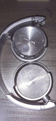 Słuchawki nauszne  philips, czarne