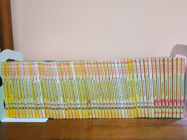 Geronimo Stilton. 50 livros. Ler descrição.
