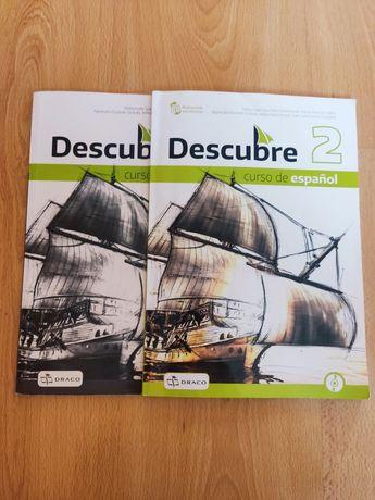 Zestaw Descube 2 podręcznik + zeszyt ćwiczeń język hiszpański