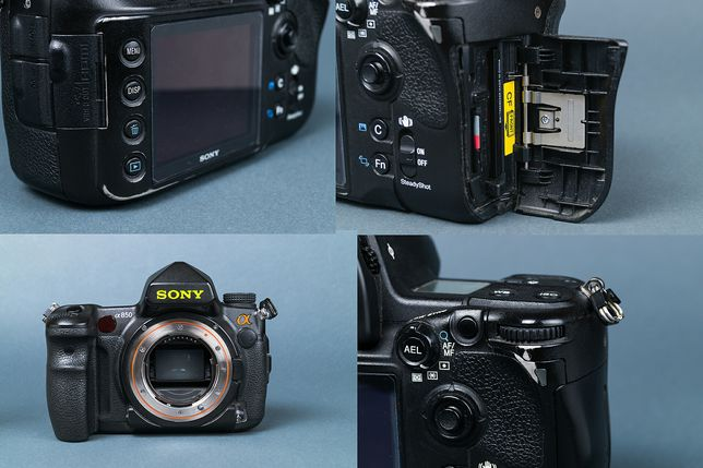 Sony Alpha DSLR-A850 body