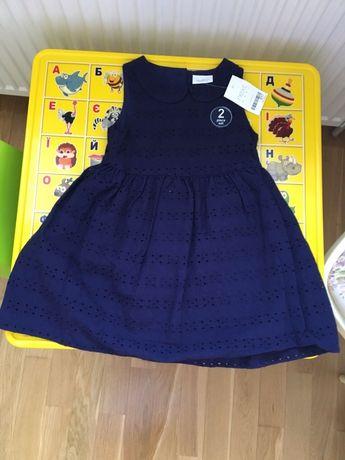 Потрясающе красивое платье Next 1,5-2 года