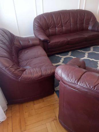 Komplet wypoczynkowy kanapa sofa fotel pokój gościnny zestaw mebli