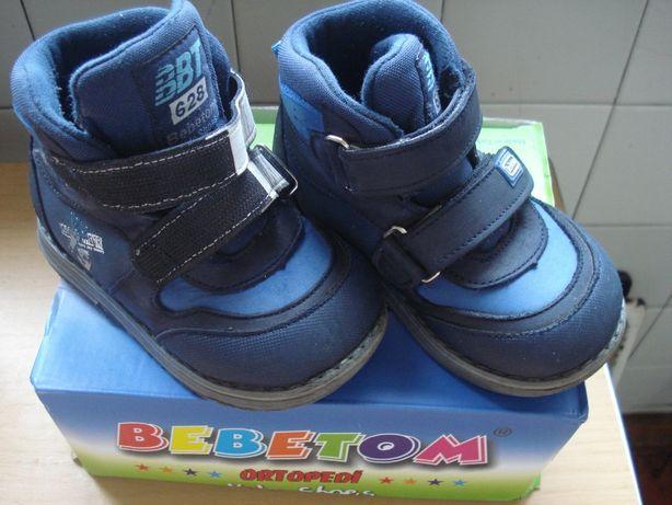 Ботинки демисезонные bebetom, утепленные ботинки, 23 р., 14 с