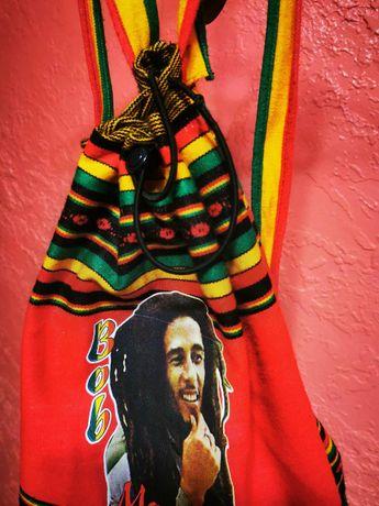 Раста-рюкзак с Портретом Боба Марли (Bob Marley)