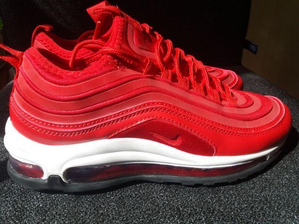 Новые молодежные кроссовки, цвет: красный - NIKE Air Max 97 Red.