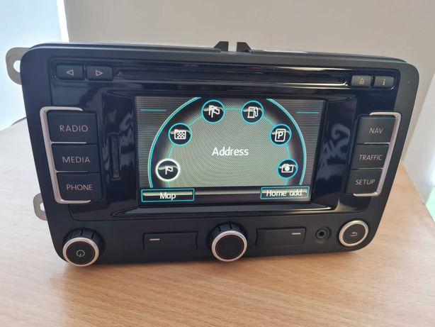 Volkswagen RNS315 CD MP3 NAWI AKTYWACJA funkcji DAB