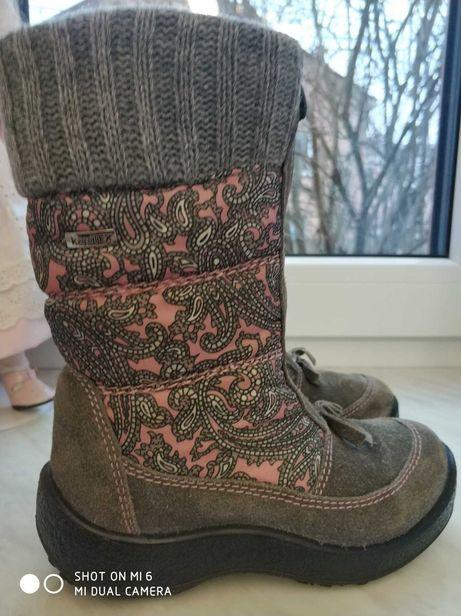 Ботинки Сапоги зимние на девочку