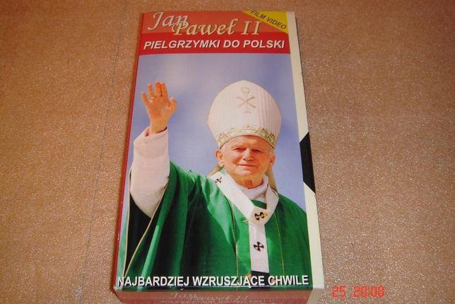 Jan Pawł II - Pielgrzymki do Polski - Film na VHS
