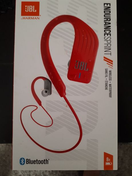 JBL Endurance Sprint Czerwone słuchawki sportowe