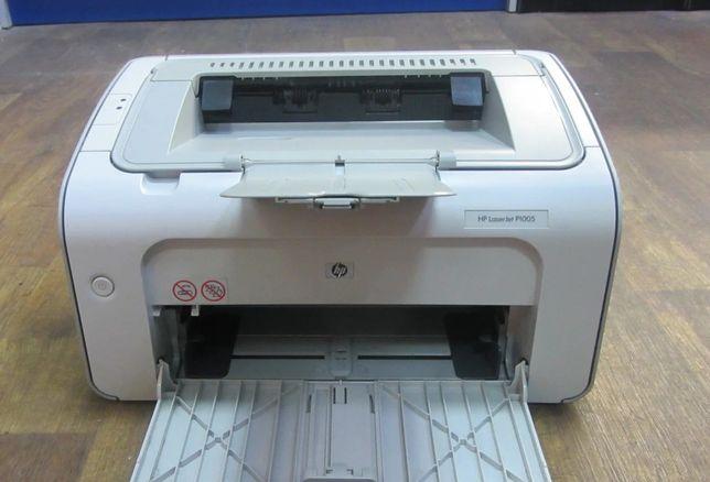 Принтер лазерний чорно-білий hp laserjet p1005