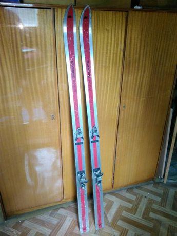 Narty Olimpic Swing 180cm z zapięciami