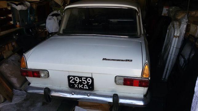 Продам Москвич ИЖ 412 1980г гаражное хранение