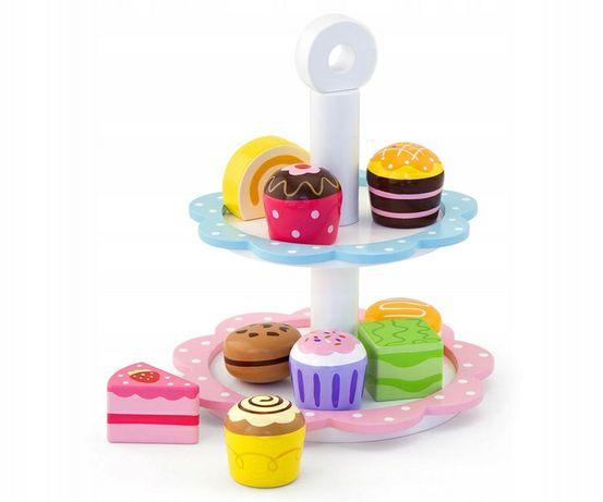 Patera słodycze zabawka babeczki tort
