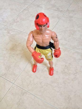 Action Man antigo Kickboxer, autêntico, está impecável