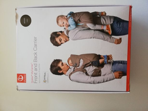 Stokke MyCarrier Front and Back (Cotton Brown)