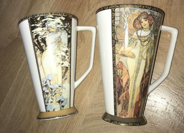Коллекционные кружки Goebel Artis Orbis с репродукцией картин А. Мухи