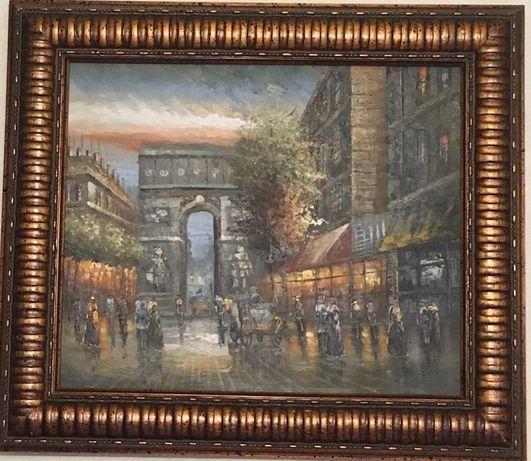 продам картину с пейзажем Парижа