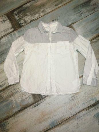 Koszula h&m chłopięca w rozmiarze 134/140