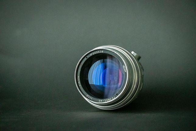Objectiva Helios 40 f/1.5 85mm