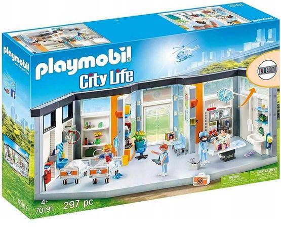 Nowe Klocki Playmobil SZPITAL Z WYPOSAŻENIEM 70191