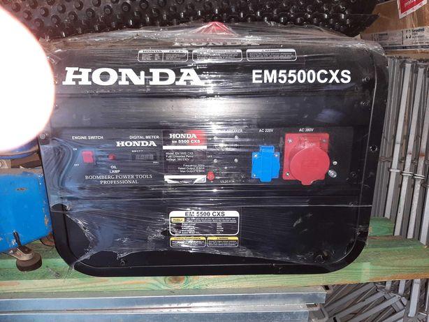 Agregat prądotwórczy Honda EM5500CXS