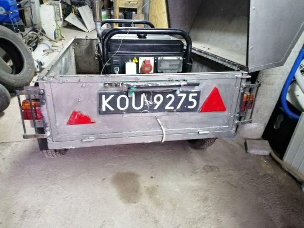 Agregat pradotwórczy 7kW i Siłownik hydrauliczny z napędem elektryczny