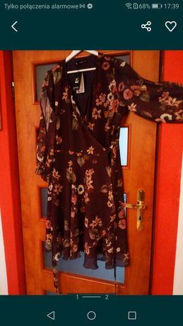 Sukienka wzory kwiatowe