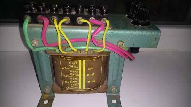 Трансформатор ПЗ-300 на болгарский тельфер 3.2 - 5 т кран балку 36 В