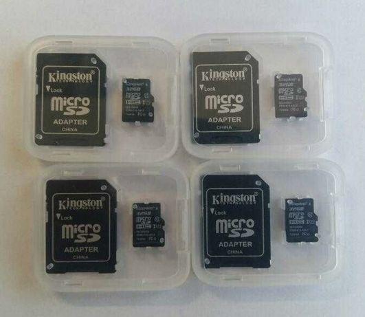 Новые microsd карты Kingston 32 Gb