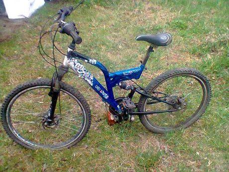 Rower miejski Caledonia 24 cale trekkingowy amortyzowana rama K2 damka