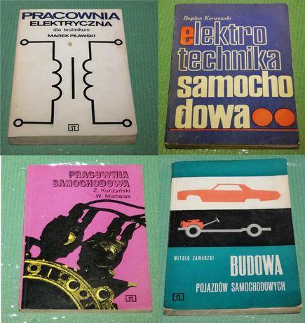 Podręczniki, książki technikum samochodowe
