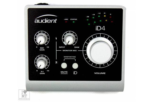 Audient ID4 Студийная Звуковая Карта /Аудиоинтерфейс
