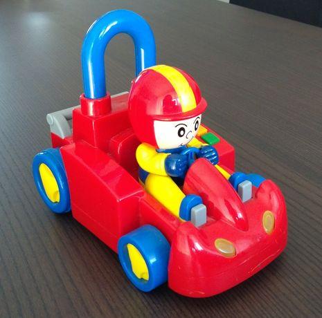 Samochodzik Smiki na baterie, auto z melodiami, grająca zabawka