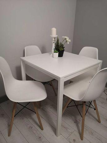Stół nowoczesny krzesła 4 sztuki Nowe Dowóz