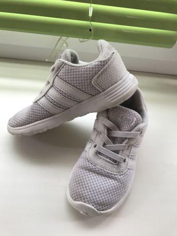 Кроссовки белые adidas адидас 24 размер по стельке 15,5 см