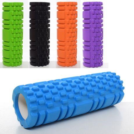 Массажный ролик Grid Roller MS 1836 30*10 см валик роллер