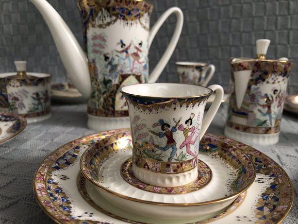 Эксклюзивный кофейный сервиз,посуда,фарфор